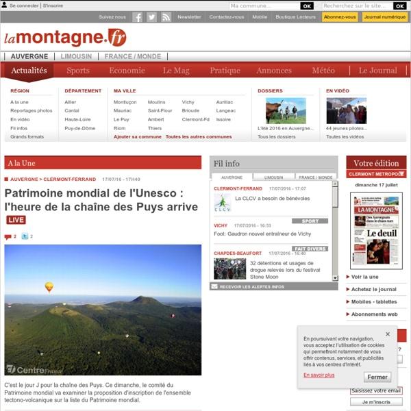 Accueil - CLERMONT-FERRAND - Du fourrage en Auvergne... par tous les moyens