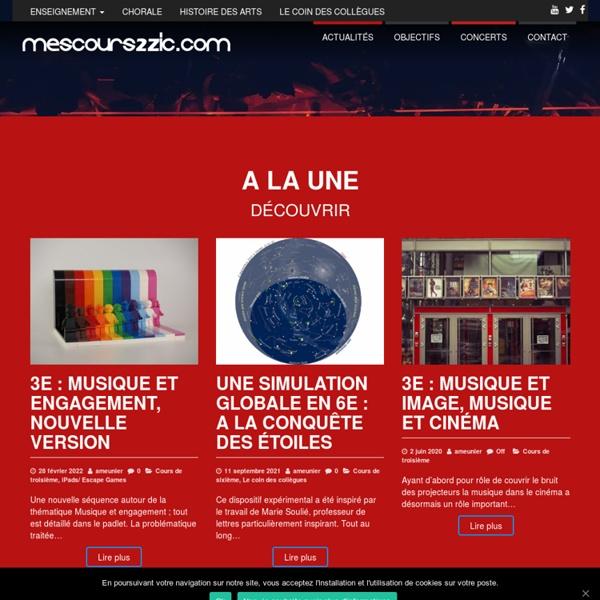 Mescours2zic.com