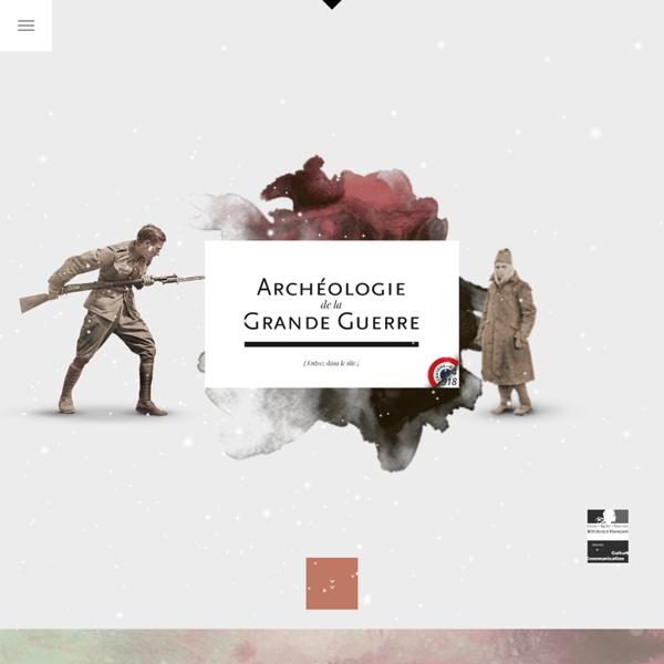 SITE MCC : Archéologie de la Grande Guerre