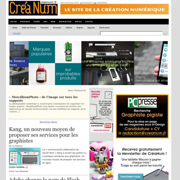 Creanum > Accueil