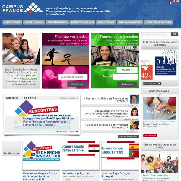 Education en France - Study in France - Estudiar en Francia - Etudier en France - Study abroad in France - Centre pour les Etudes En France - CEF