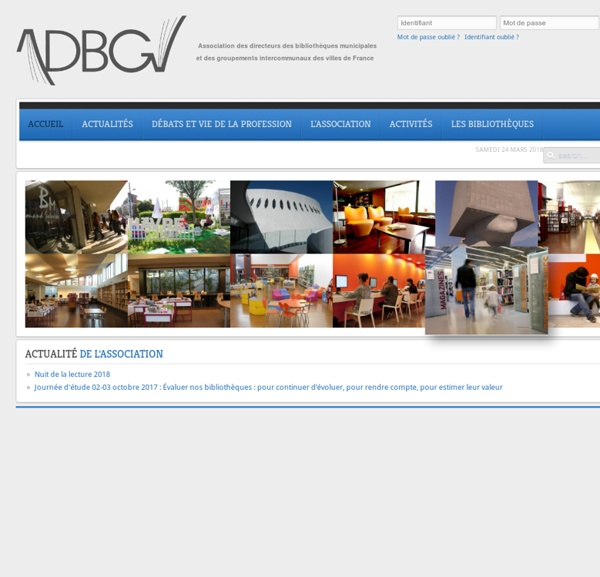 ADBGV (Association des Directeurs de Bibliothèques des Grandes Villes de France)