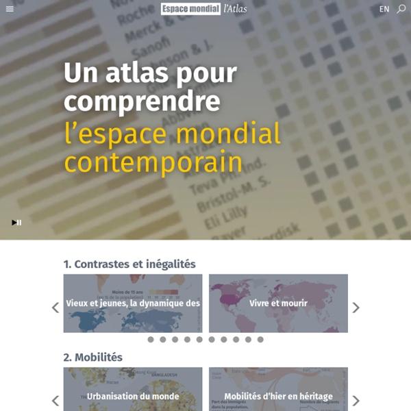 Espace mondial : l'Atlas