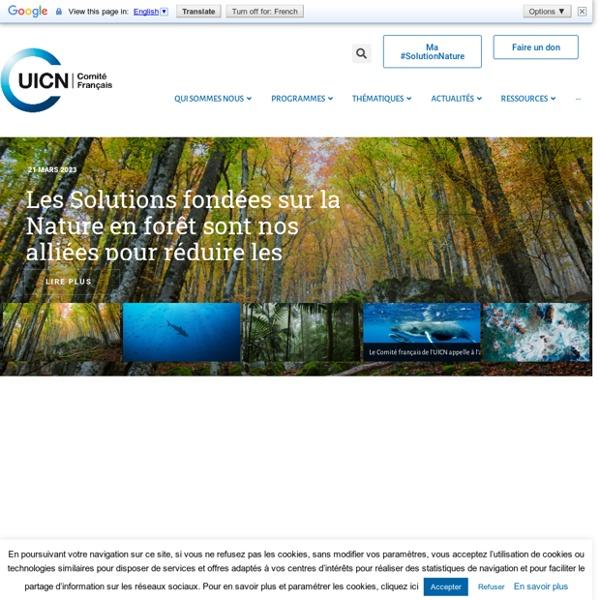 ACCUEIL - UICN France