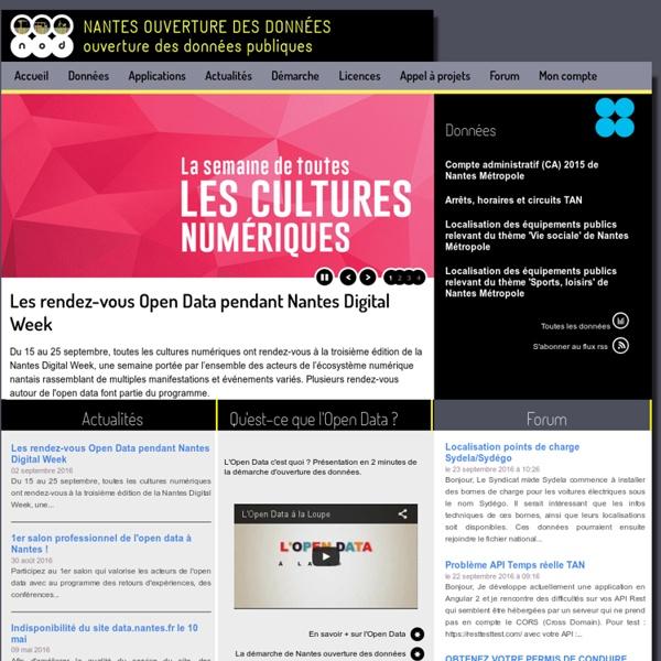 OpenData Nantes