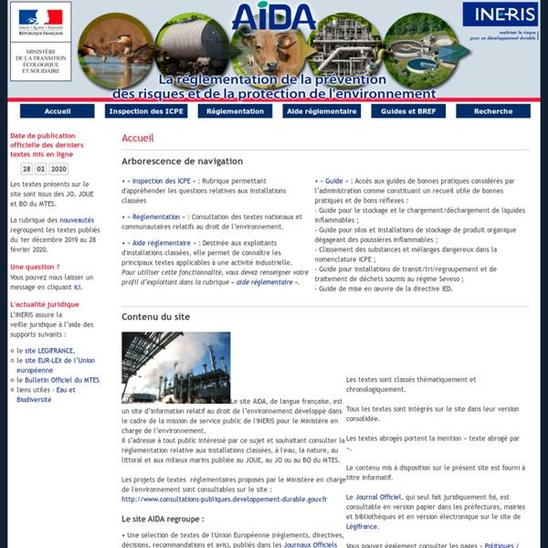 AIDA - Circulaire du 07/07/11 relative aux modalités de mise en oeuvre par les préfets des mesures de gestion dans le cadre du P