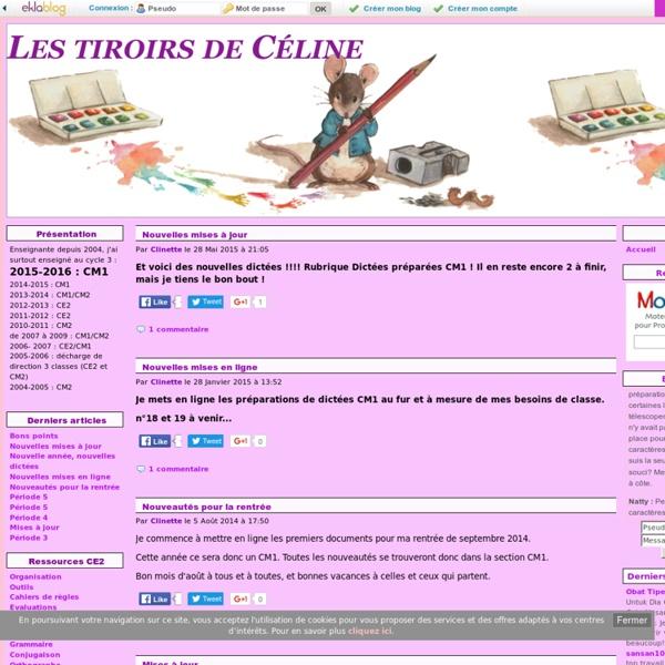 Accueil - Les tiroirs de Céline