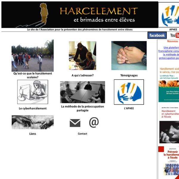 Association pour la prévention de phénomènes de harcèlement