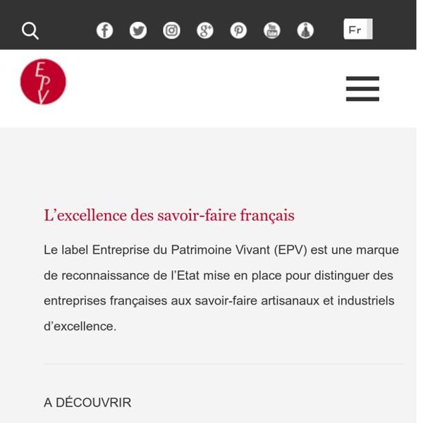 Label EPV, Entreprise du Patrimoine Vivant