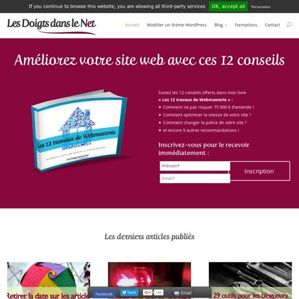 Conseils techniques pour créer et gérer un site web professionnel.Les Doigts dans le Net