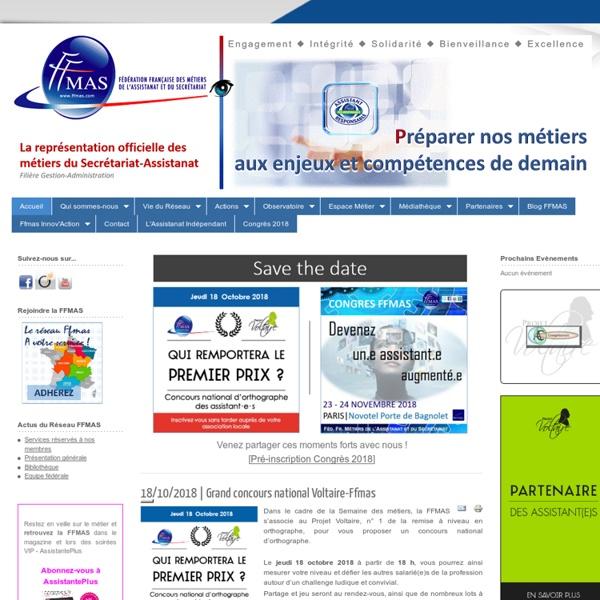 FFMAS - Métiers de l'assistanat et du secrétariat