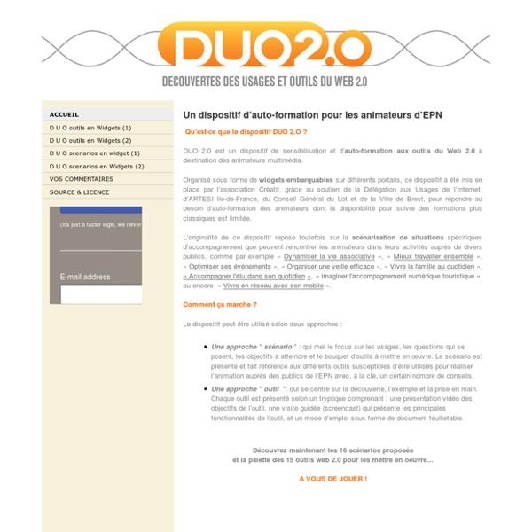 DUO2.0- Site Jimdo