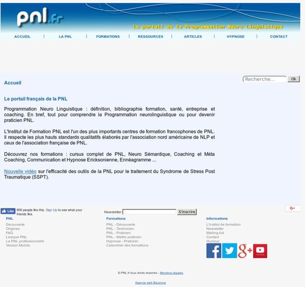 Accueil - PNL