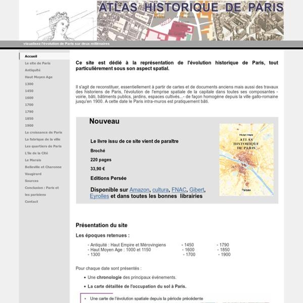 Accueil - Atlas historique de Paris