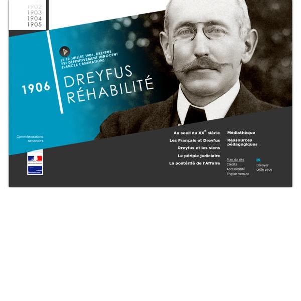 Alfred DREYFUS, 1906 Dreyfus réhabilité : Accueil