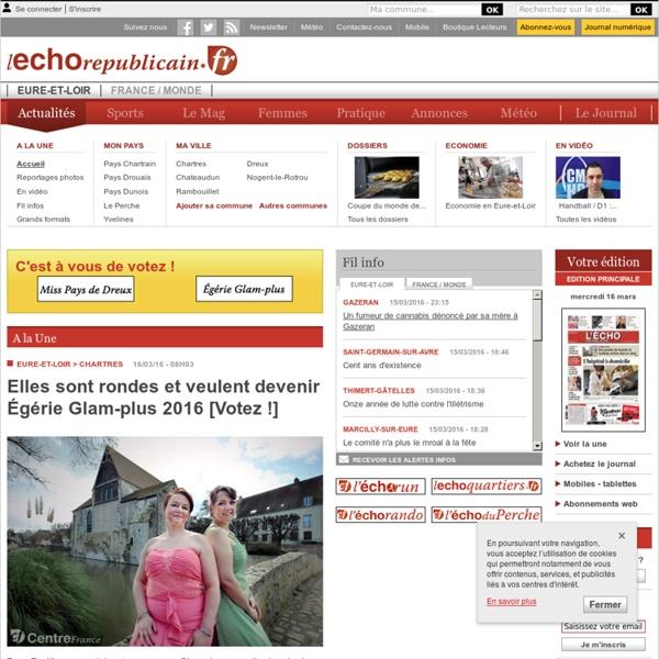 L'Echo R?publicain - Quotidien r?gional d'information - Eure-et-Loir et Yvelines