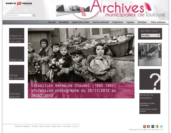 Archives municipales de Toulouse