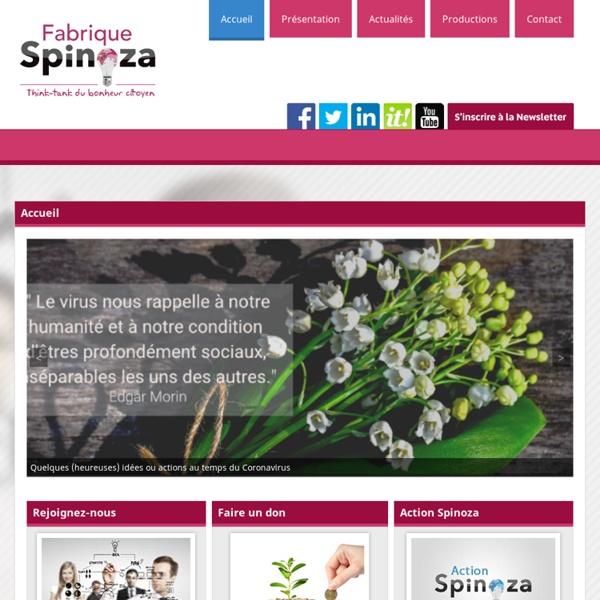Accueil - Fabrique SpinozaFabrique Spinoza