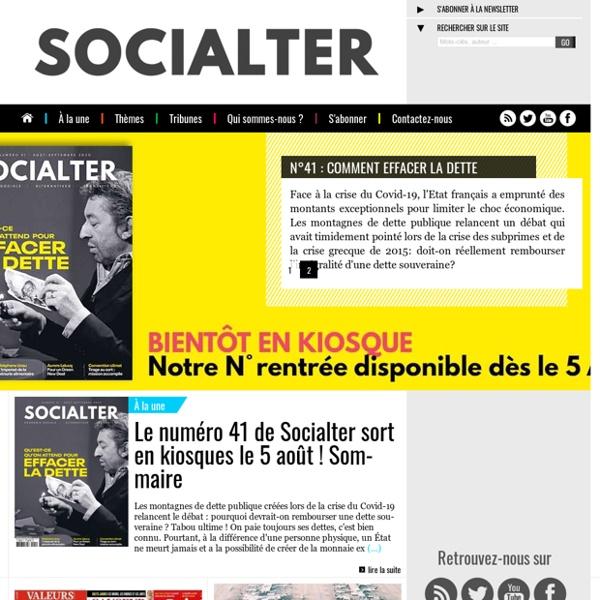 Socialter, le magazine de l'économie nouvelle génération - Accueil