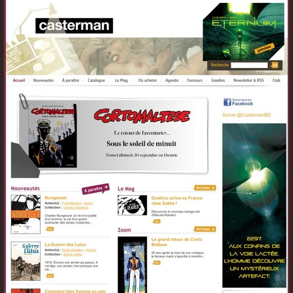 Accueil - Casterman BD