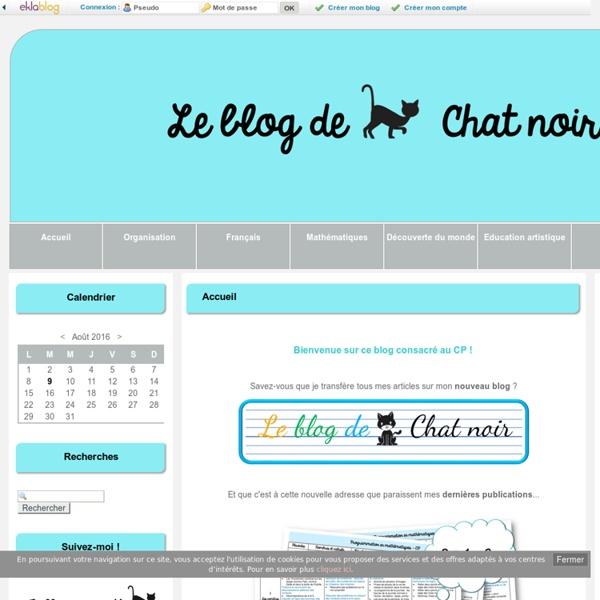 Accueil - Le blog de Chat noir