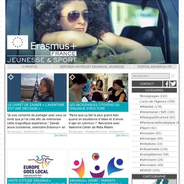 Erasmus+ Jeunesse - Accueil