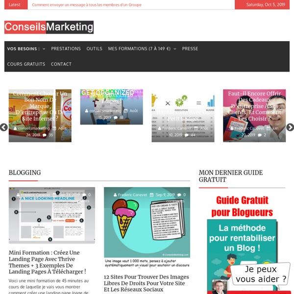 Accueil - ConseilsMarketing.fr