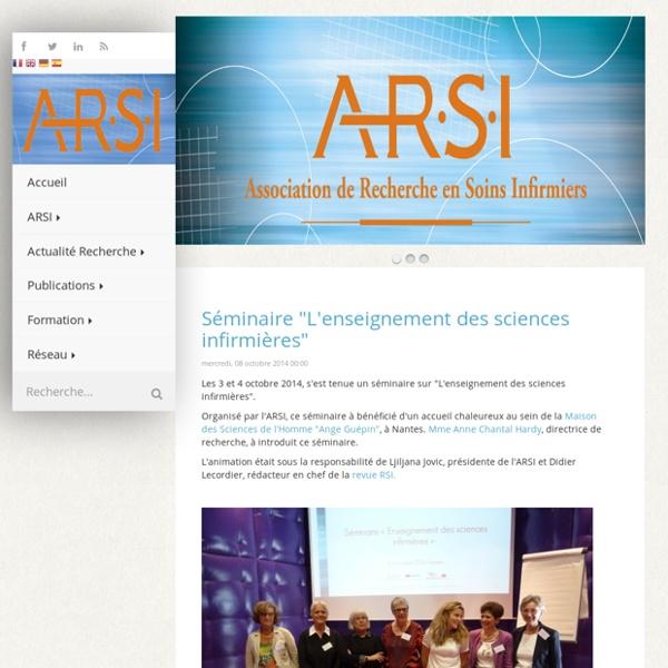 Association de Recherche en Soins Infirmiers