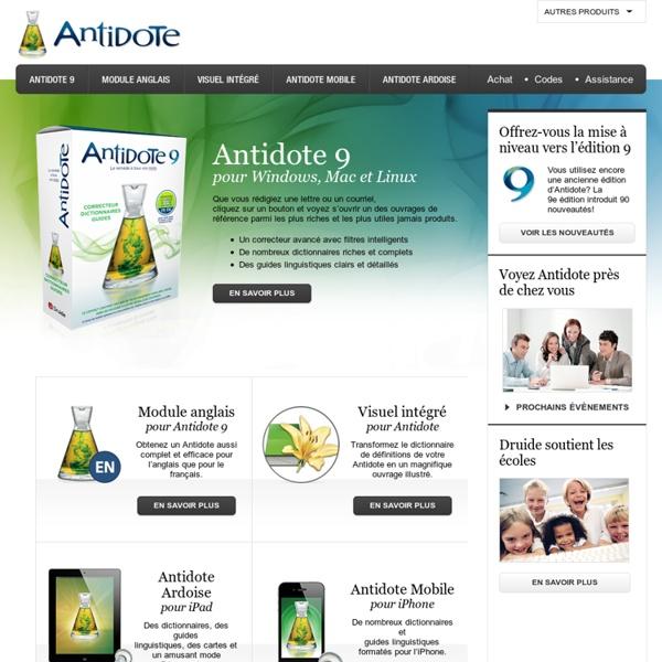 Antidote : le plus grand logiciel d'aide à la rédaction du français