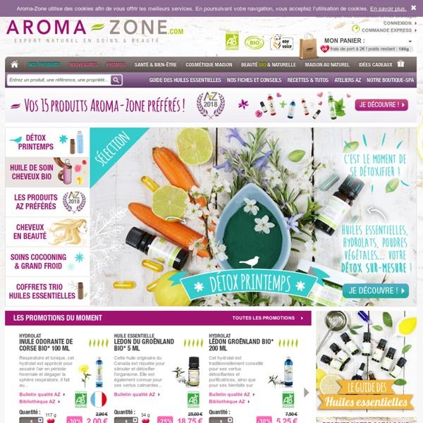 Aroma-Zone (Urucum, Glycérine végétale, EPP)