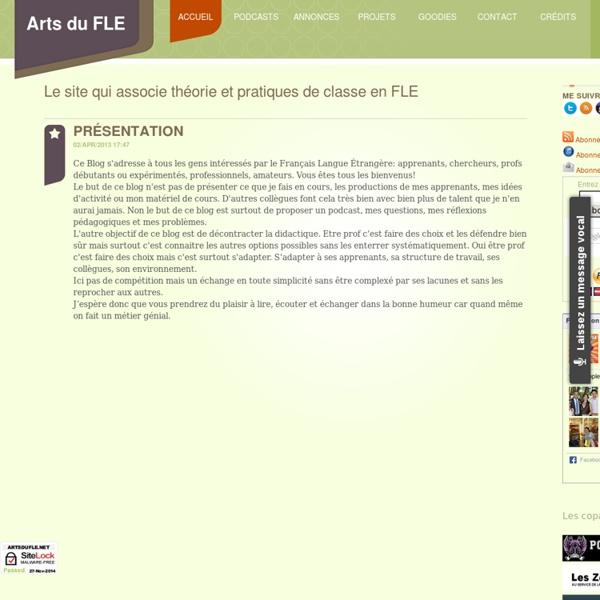 ARTS DU FLE