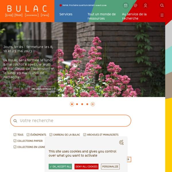 Bibliothèque Universitaire des Langues et Civilisations