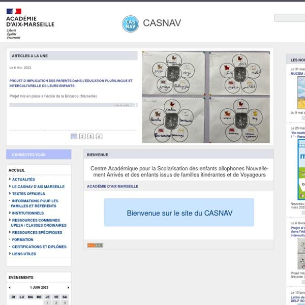 SITE CASNAV Ac Aix-Marseille