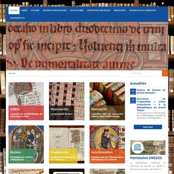 BVC - Bibliothèque Virtuelle de Clairvaux