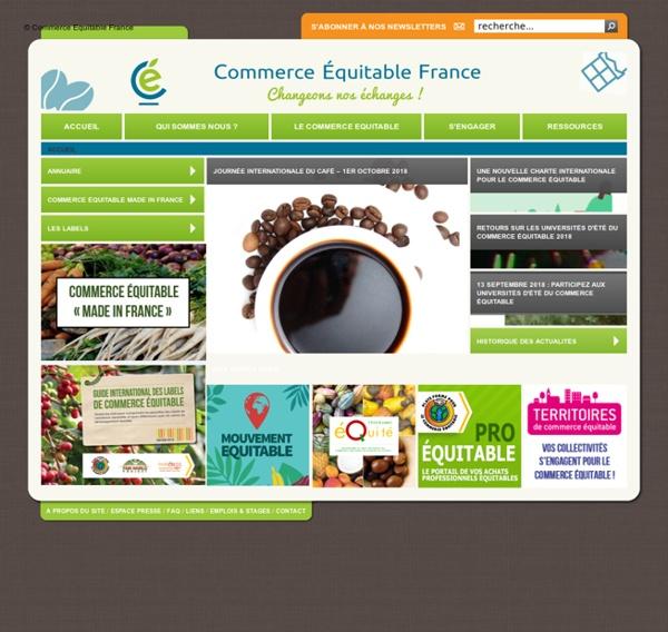 Accueil - © la Plate-Forme pour le Commerce Équitable
