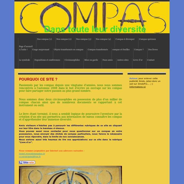 Page d'accueil - compas-passion.jimdo.com