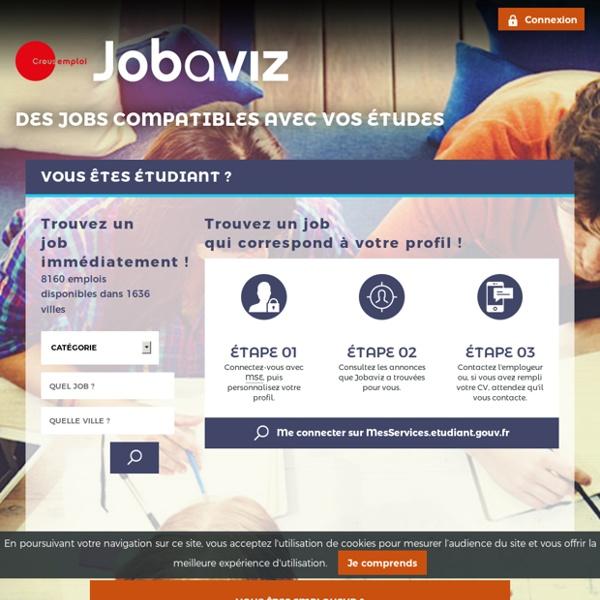 Jobs étudiants - Jobs saisonniers - Jobs d'été - Jobaviz