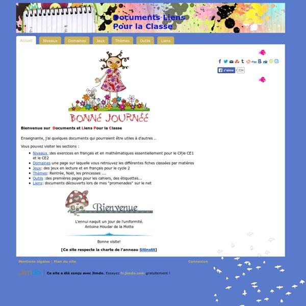 Accueil - DLPC: Documents et liens pour la classe
