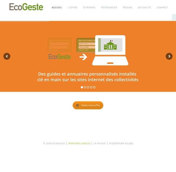 Ecogeste.info - Accueil