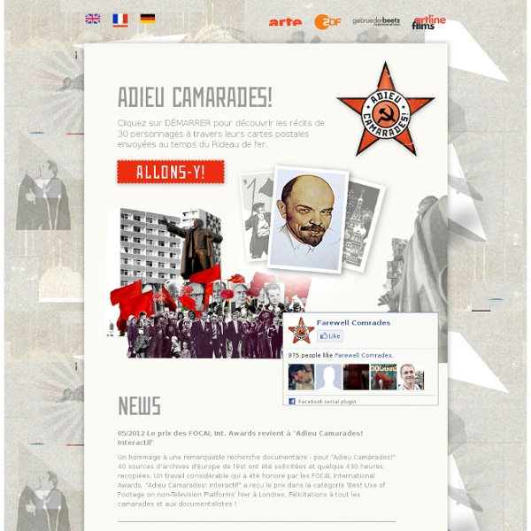 Accueil - Farewell Comrades