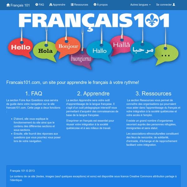 Français 101