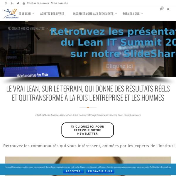 Accueil - Institut Lean France