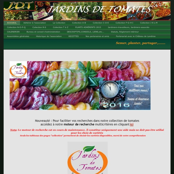 ACCUEIL - Jardins de Tomates