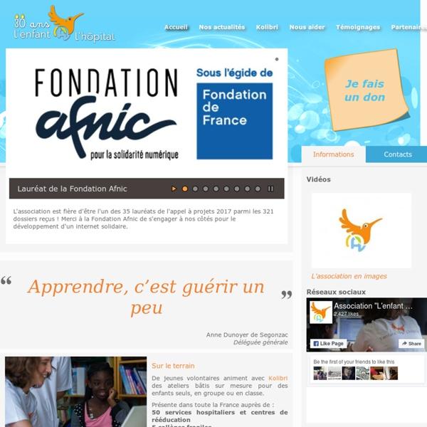 L'enfant @ l'hôpital - Site français