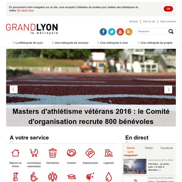 Grand Lyon - Communauté urbaine de Lyon