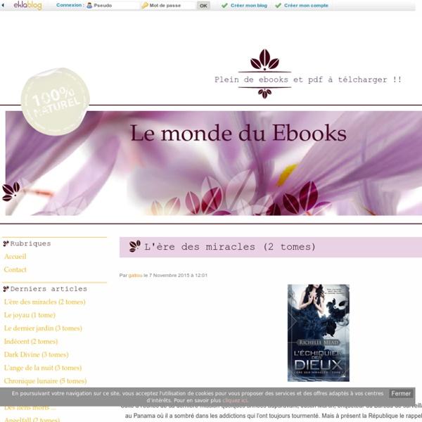 Accueil - Le monde du Ebooks