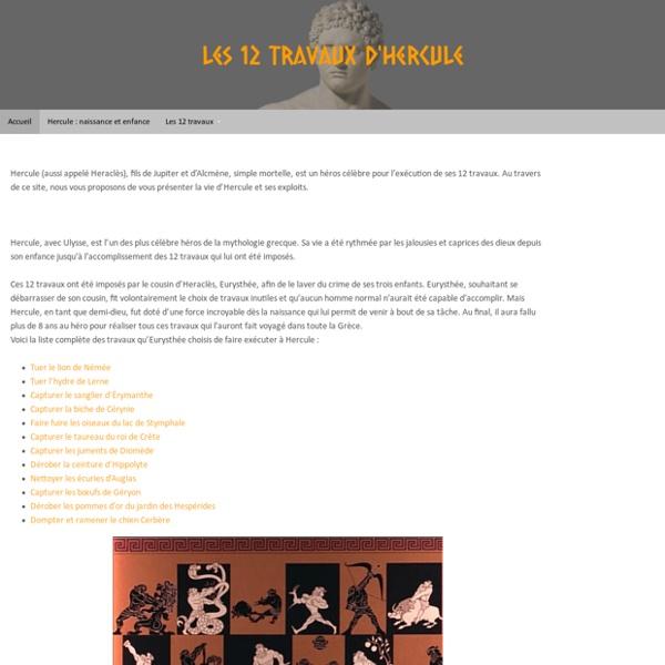 Accueil - Les 12 Travaux d'Hercule