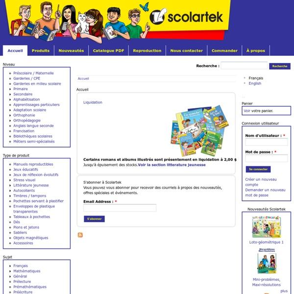Les Éditions Scolartek inc