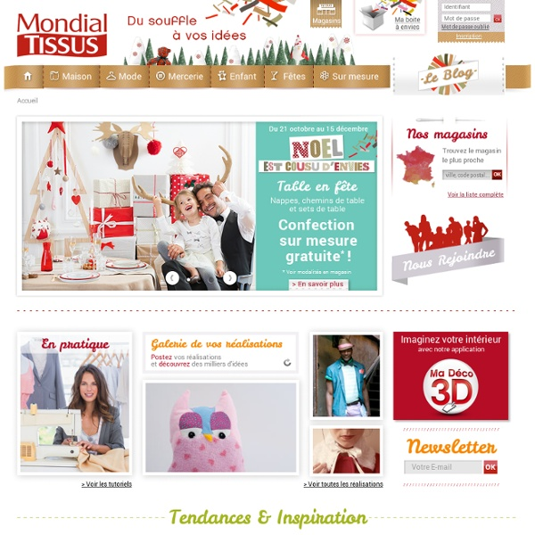 Mondial tissus pearltrees - Www mondialtissus com ...