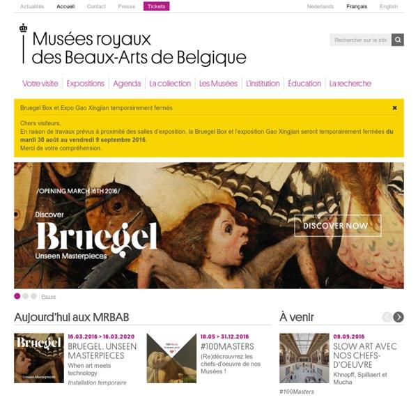 Accueil – Musées royaux des Beaux-Arts de Belgique
